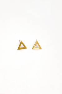 Admiral Row Triangle Geo Studs - Vintage Hope Boutique