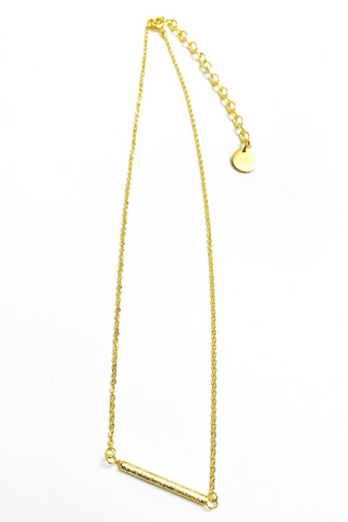 BB Lila Walk The Line Necklace - Vintage Hope Boutique