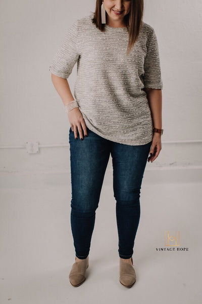 Pull On Skinny Jeans by Grace and Lace