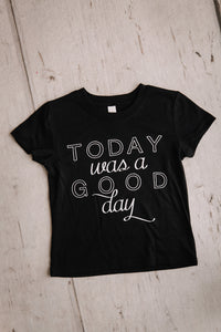 Good Day Kids Crew Neck Tee