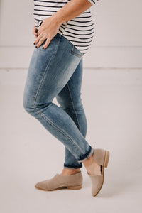 Pull On Skinny Jeans by Grace and Lace Jeans