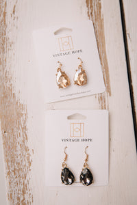 Gem Statement Earring