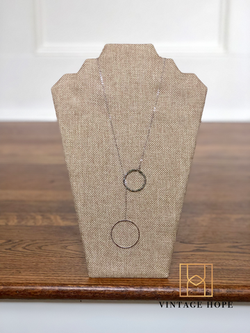 Hoop Wrap Necklace