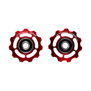 Ceramicspeed  Pulley Wheels for Campagnolo 11s red
