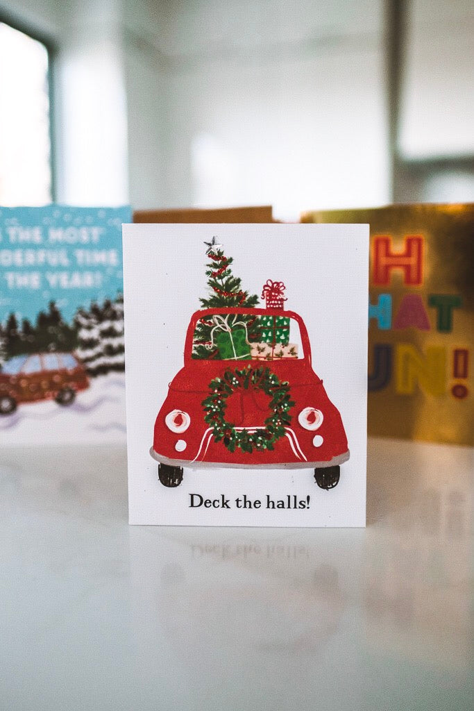 Hectically Cute Holiday Card
