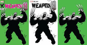 Weapon H #1 Dale Keown EXCLUSIVE Set!!