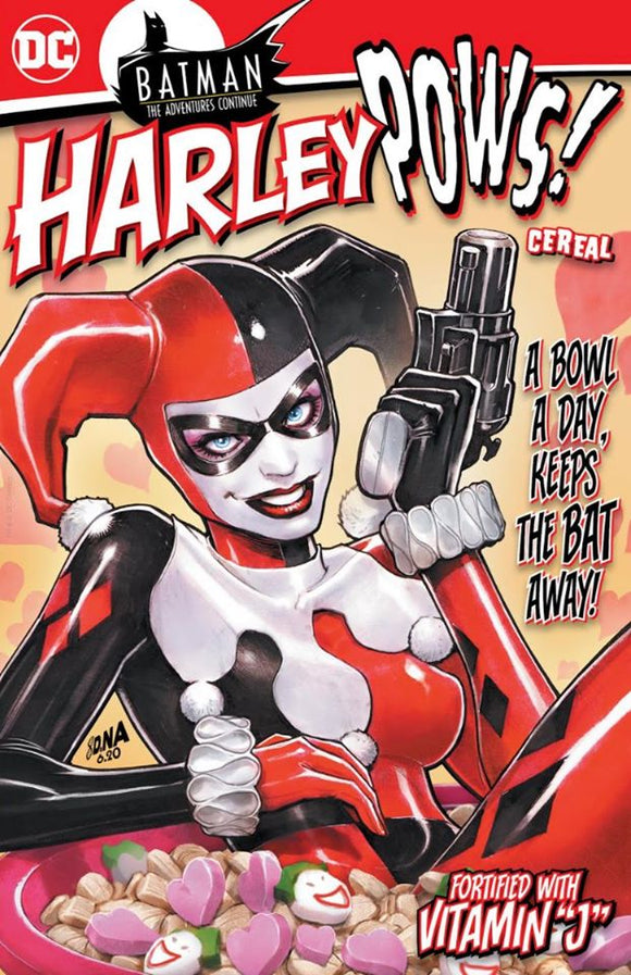 Pre-Order: BATMAN THE ADVENTURES CONTINUE #3 Harley Pows DAVID NAKAYAMA VARIANT - Mutant Beaver Comics