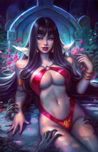 Pre-Order: VAMPIRELLA #11 Sun Khamunaki Virgin Exclusive! ***Ltd to 500** - Mutant Beaver Comics
