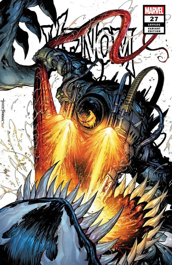 VENOM #27 TYLER KIRKHAM EXCLUSIVE SECRET VARIANT! - Mutant Beaver Comics