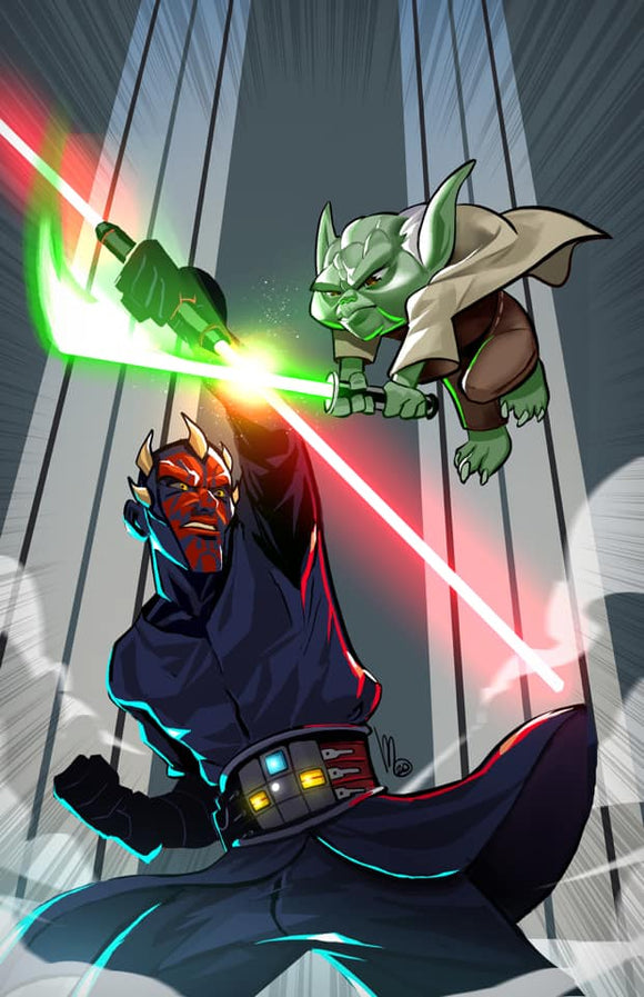 Pre-Order: STAR WARS ADVENTURES - THE CLONE WARS BATTLE TALES #4 MEL MILTON VIRGIN! ***Ltd to Only 750!*** - Mutant Beaver Comics