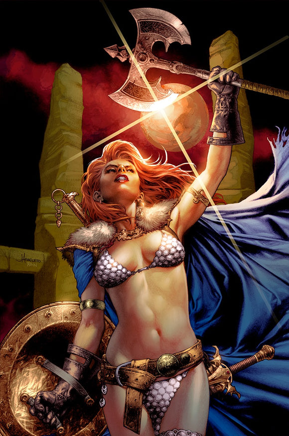 Pre-Order: RED SONJA AGE OF CHAOS #6 Jay Anacleto VIRGIN Exclusive! ***Ltd to Only 500*** (09/15/2020)