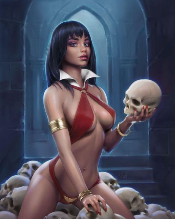 Pre-Order: VAMPIRELLA #13 Will Jack VIRGIN Exclusive! ***Ltd to ONLY 500**