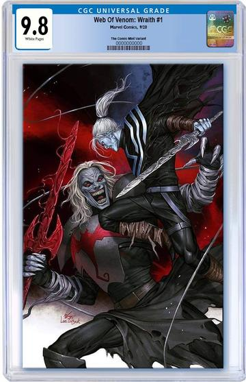 WEB OF VENOM Wraith #1 Inhyuk Lee CGC 9.8 VIRGIN! - Mutant Beaver Comics