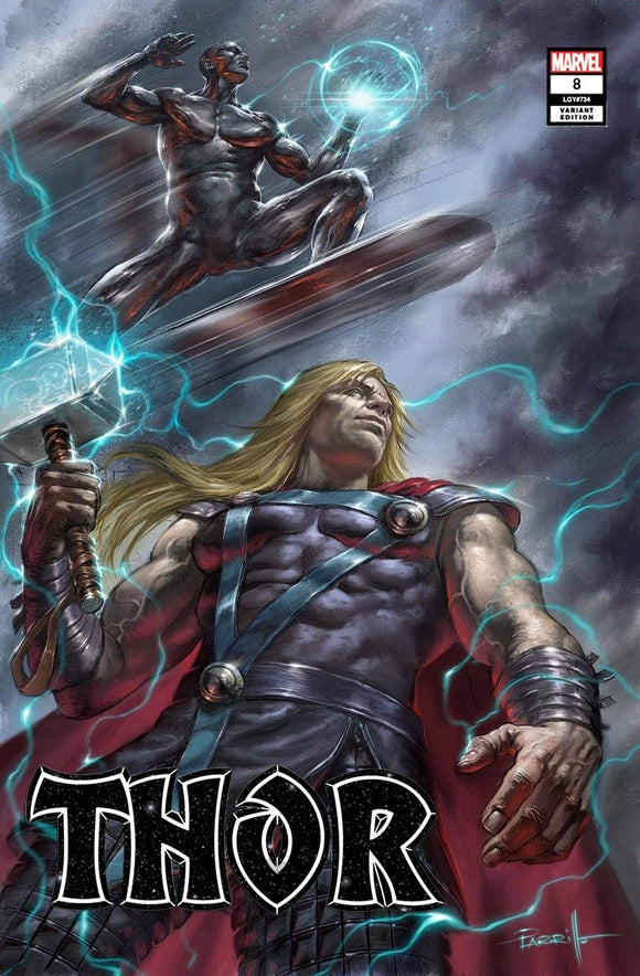 Pre-Order: THOR #8 LUCIO PARILLO EXCLUSIVE (10/21/20) - Mutant Beaver Comics