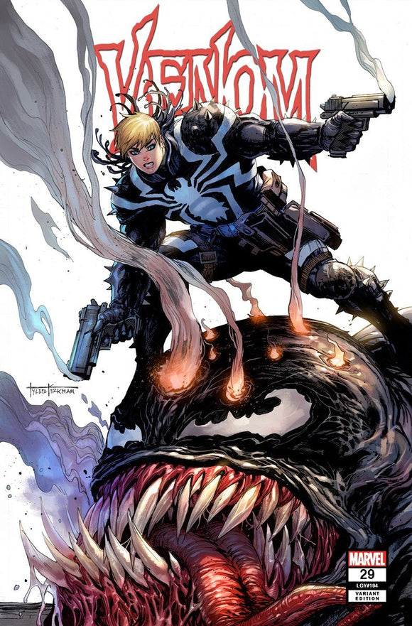 VENOM #29 TYLER KIRKHAM SECRET EXCLUSIVE! - Mutant Beaver Comics