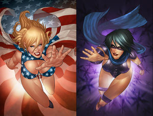PATRIOTIKA #1 Gaston HERO & VILLAIN Homage Sets! - Mutant Beaver Comics