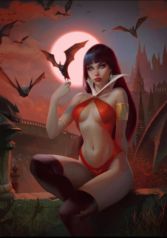 VAMPIRELLA #16 Igor Lomov VIRGIN Exclusive! - Mutant Beaver Comics