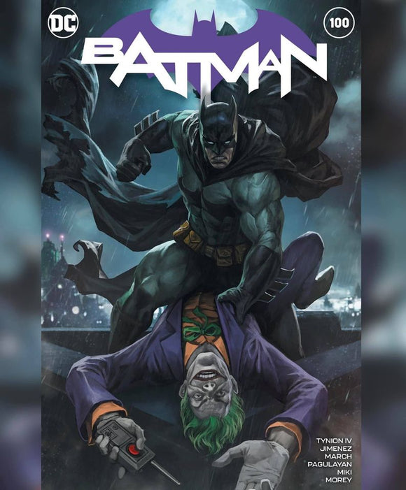 Pre-Order: BATMAN #100 Skan Srisuwan Exclusive! ***Ltd to ONLY 500 w/COA 10/20/20