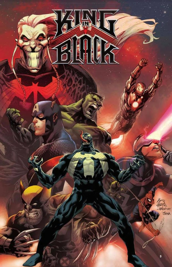 Pre-Order: KING IN BLACK #1 SIGNED BY DONNY CATES!