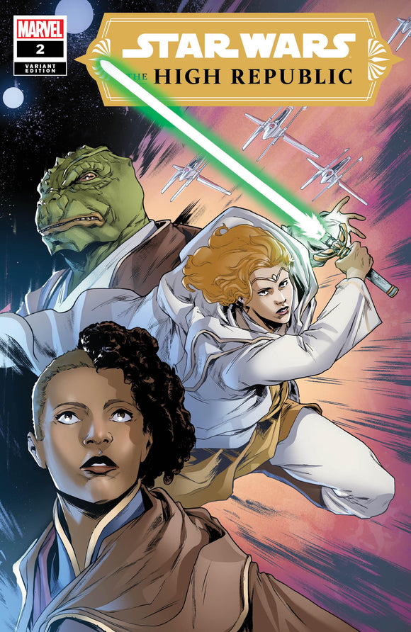 Pre-Order: STAR WARS: High Republic #2 Paolo Villanelli Exclusive! 03/31/21