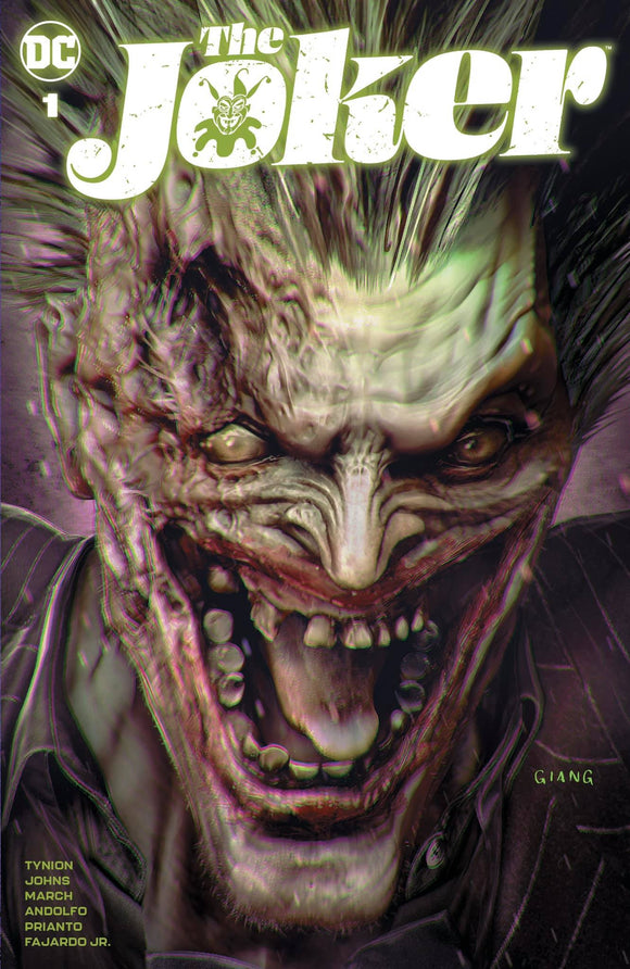 Pre-Order: THE JOKER #1 John Giang Exclusive! (Ltd to 1000 with COA) 03/31/21