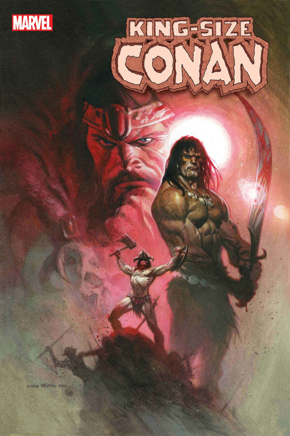 12/23/2020 KING-SIZE CONAN #1 - Mutant Beaver Comics