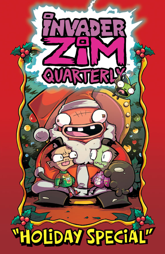 12/23/2020 INVADER ZIM QUARTERLY HOLIDAY SPECIAL #1 CVR A ALEXOVICH - Mutant Beaver Comics