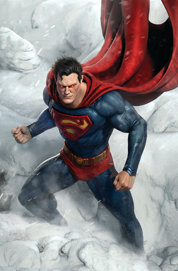 12/08/2020 SUPERMAN ENDLESS WINTER SPECIAL #1 (ONE SHOT) CVR B RAFAEL GRASSETTI VAR (ENDLESS WINTER) - Mutant Beaver Comics