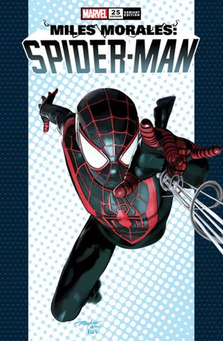 Pre-Order: MILES MORALES SPIDER-MAN #25 Mike Mayhew Homage Exclusive! 05/30/21