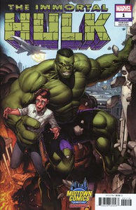 THE IMMORTAL HULK #1 Exclusive Dale Keown Variant!! 1st PRINT! ***RED HOT!!*** - Mutant Beaver Comics