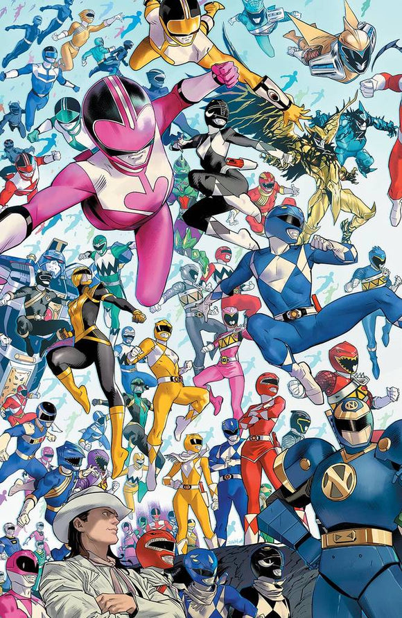 Pre-Order: POWER RANGERS #1 1:10 DAN MORA RATIO VARIANT 11/25/20