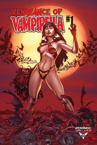 VENGEANCE OF VAMPIRELLA #1 Buzz 1:40 BLOOD MOON Ratio Variant - Mutant Beaver Comics