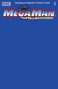 Pre-Order: MEGA MAN: Fully Charged #1 BLUE Sketch Blank! ***Ltd to Only 500!*** - Mutant Beaver Comics