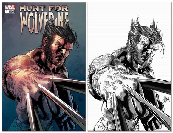 HUNT FOR WOLVERINE #1 Mike Deodato EXCLUSIVE SET (Trade Dress & Virgin)