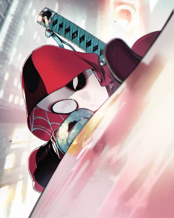 Spider-gwen #32 VIRGIN Deadpool Variant! Only 1000 made!