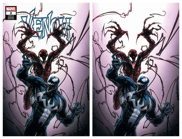 VENOM #2 Clayton Crain Exclusive SET (Trade & Virgin) ~ Limited to ONLY 600 Sets!! - Mutant Beaver Comics
