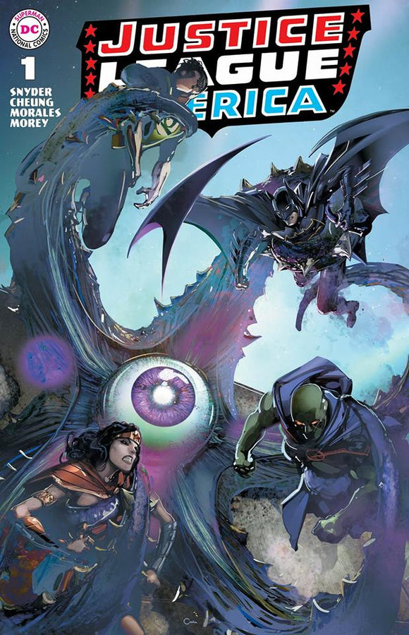 JUSTICE LEAGUE #1 by Clayton Crain! Exclusive TRADE DRESS! (1st ever Batman cover by Crain!)