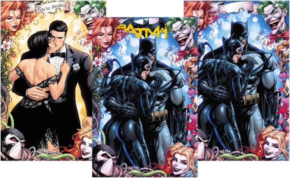 BATMAN #50 Tyler Kirkham EXCLUSIVE 3 Cover SET (Trade + 2 Virgins)! ONLY 1000 Sets!