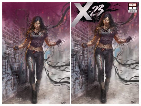 X-23 #1 EXCLUSIVE Lucio Parrillo SET