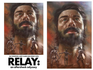 RELAY #1 Exclusive SET by LUCIO PARRILLO!! (Trade & Virgin) Limited to ONLY 250 Sets!!
