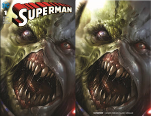 Pre-Order: SUPERMAN #1 MATTINA ROGOL ZAAR Exclusive SET (Trade + Virgin)! ***ONLY 600 Sets Made!*** 07/11/18