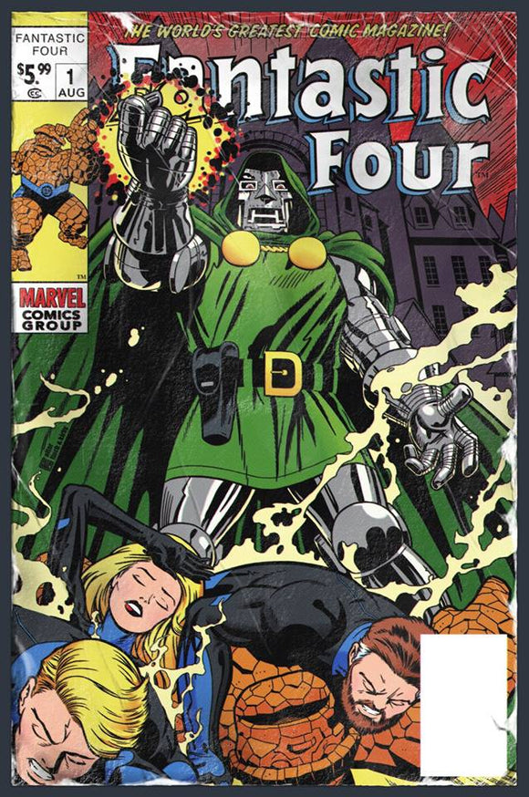 FANTASTIC FOUR #1 Exclusive Trade Dress by JTC!! Limited to ONLY 700 Copies Made!! - Mutant Beaver Comics