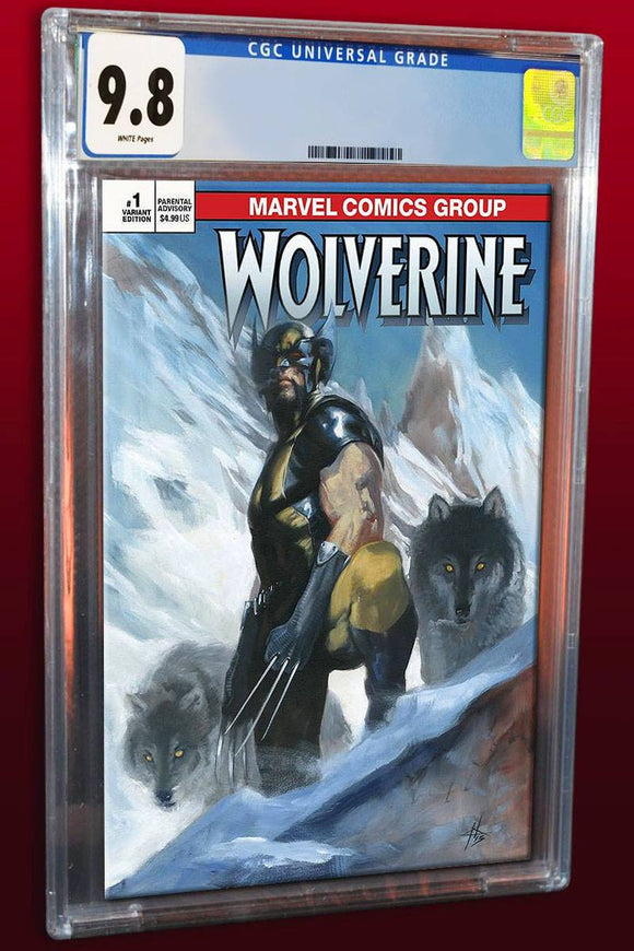 RETURN OF WOLVERINE #1 CGC 9.8 Dell 'Otto TRADE DRESS - Mutant Beaver Comics