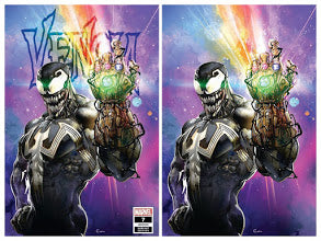 VENOM #7 Clayton Crain Exclusive SET (Trade + Virgin) ***Limited to ONLY 1000 Sets!***