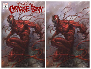 Pre-Order: CARNAGE BORN #1 Lucio Parrillo SET (Trade + Virgin)! 11/28/18