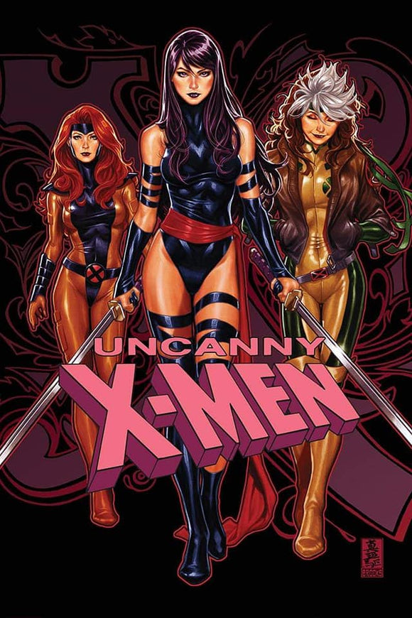 Pre-Order: UNCANNY X-MEN #1 Mark Brooks Exclusive TRADE DRESS!! 11/21/18