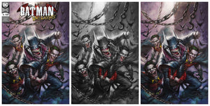 Pre-Order: BATMAN WHO LAUGHS #1 Parrillo SET (Trade, B/W, & Virgin)! 12/15/18 ***ONLY 1000 Sets!***