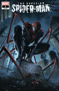 Pre-Order: SUPERIOR SPIDER-MAN #1 Clayton Crain TRADE DRESS! ***ONLY 1500 Available + Numbered COA!*** 12/26/18