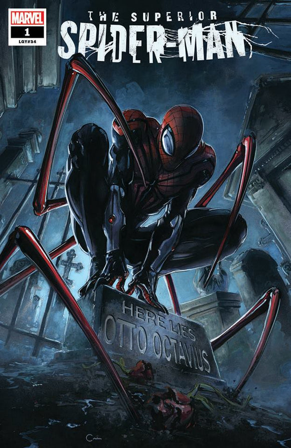 SUPERIOR SPIDER-MAN #1 Clayton Crain TRADE DRESS! ***ONLY 1500 Available + Numbered COA!***