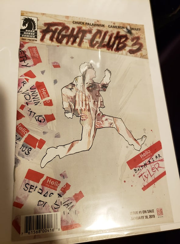 ASHCAN Fight Club 3 - issue #1